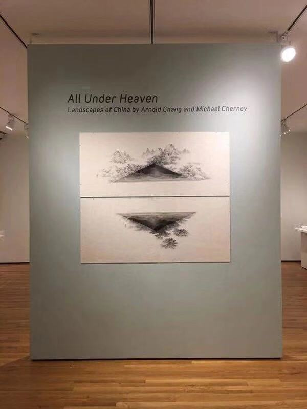 Michael Cherney and Arnold Chang's Two-Artist Exhibition