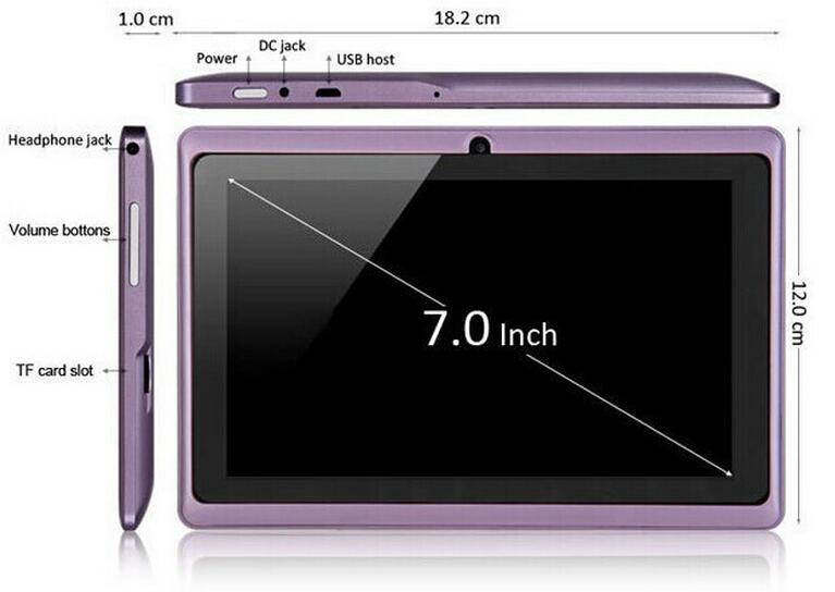tablet pc size