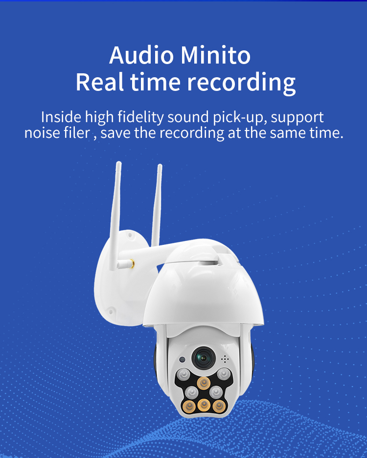 Audio Minito Real time recording