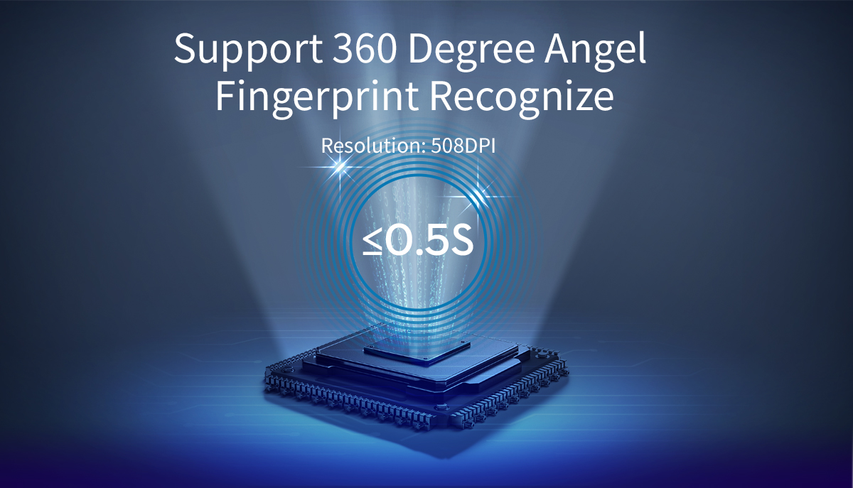 360° fingerprint recognition
